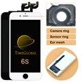 5 pcs livre dhl grau aaa +++ para iphone 6 s lcd com 3d força Display Touch Montagem Digitador Da Tela de 4.7 Polegada de Pixel Não Morto