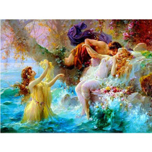 Prince and princess diamond Embroidery diy painting mosaic diamant 3d cross stitch pictures H601