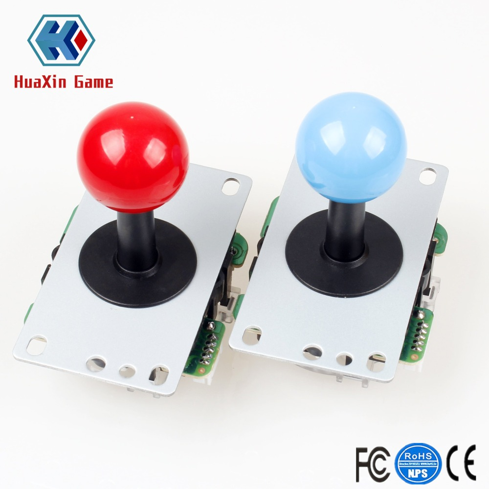 Classic 2 Player Zero Delay Arcade USB Encoder To PC Game 5Pin Joystick +30mm / 24mm Push Buttons For Mame SNK KOF Raspberry Pi
