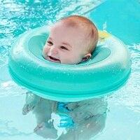 Baby Neck Ring Inflatable Infant Swim Ring Kids Swimming Pool Circle Bathing Float Raft Neck Rings