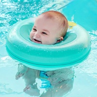 Baby Neck Ring Inflatable Infant Swim Ring Kids Swimming Pool Circle Bathing Float Raft Neck Rings
