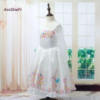 AcxOneFr New Baby Girl Anna Elsa Dress High Grade Sequined Princess Cinderella Fancy Kids Clothes For