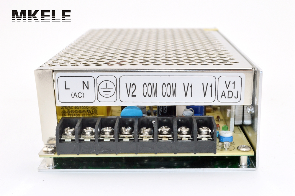 High Quality Dual Voltage 12v 5a Switching DC power Source Supply Unit D-120F12 free delivery high quality dc 12 v switching high current car fan gm stepless speed regulator the biggest support 5 a