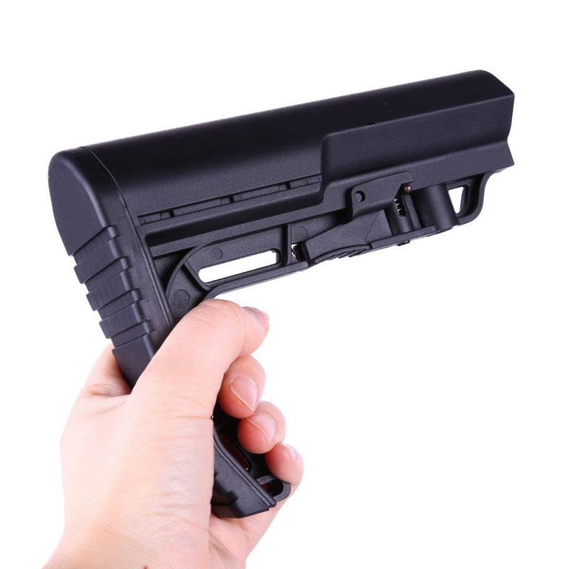 2018 New Camping Components tactical stock Mission Adjustable Stock Mil Tactical MFT After care back nylon Tactical Minimalist