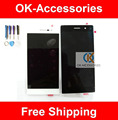 Black White Color For HuaWei Ascend P7 LCD Display+Touch Screen Digitizer With Tools 1PC/Lot Replacement Part