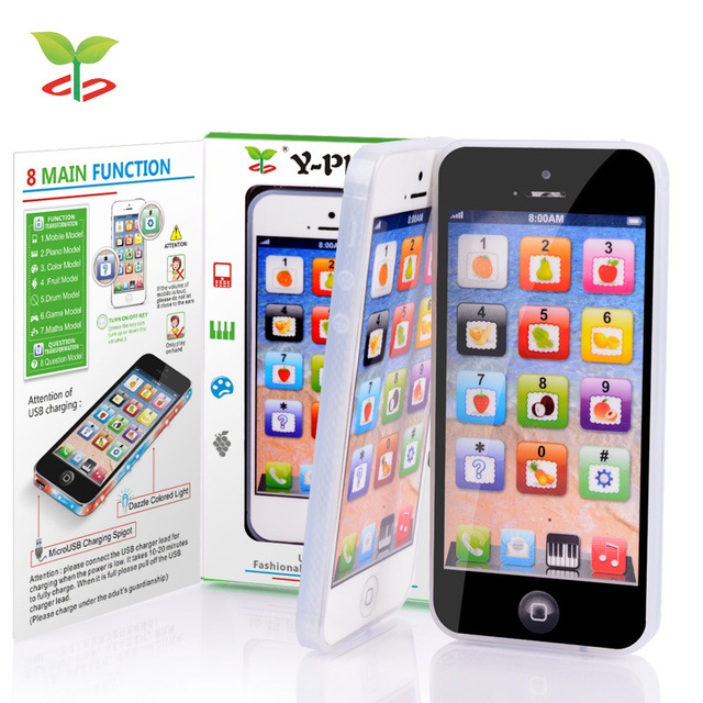 Kid Electronic Toy Cellphone with LED