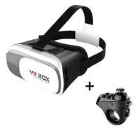 VR Box 2 0 Virtual Reality Glasses Google Cardboard VR Headset Virtual Glasses VR Bluetooth Controller