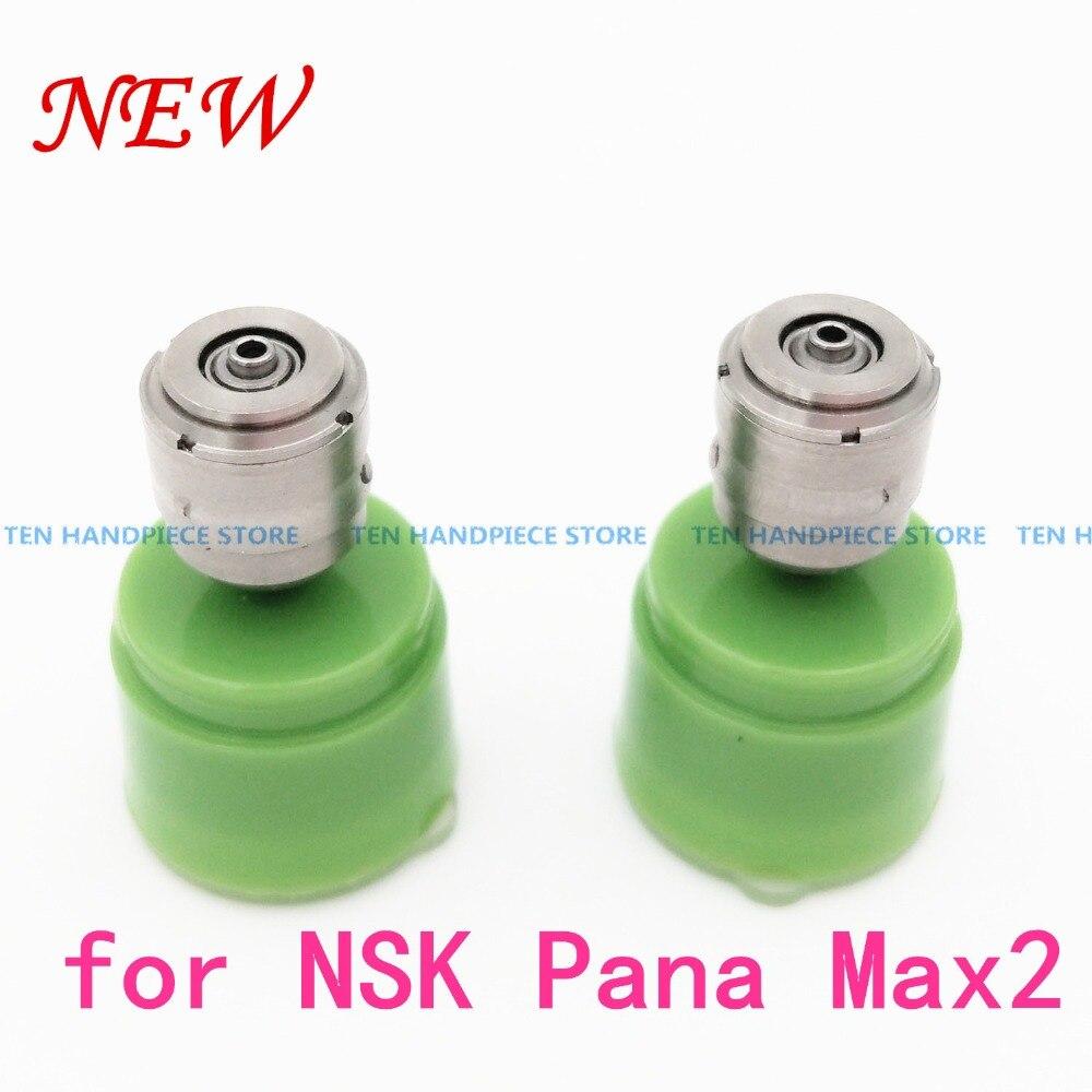 2018 bonne qualité 2 pièces Cartouche D'air rotor pour NSK Pana Max2 Dentaire Pièce À Main Propre Poussoir Roulement En Céramique