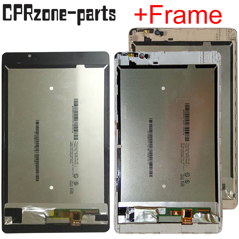 8.0 100% tested For Huawei Mediapad M2 8.0 M2 801L M2 802L M2 803L LCD display touch screen sensor digitizer assembly + frame