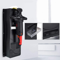 Car Polisher Holder Wall Mount Station Car Care Waxing Machine Bracket NR shipping