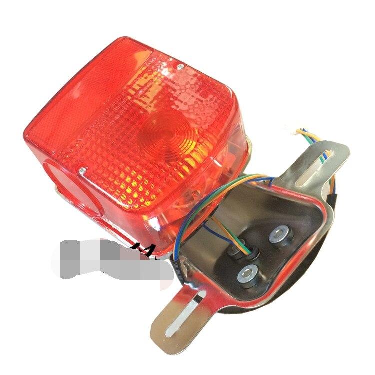 Бесплатная доставка для Запчасти мотоцикла suzuki GN125 фонарь 125cc GN125H тормоза сигнал безопасности HJ125 8 тормозной фонарь