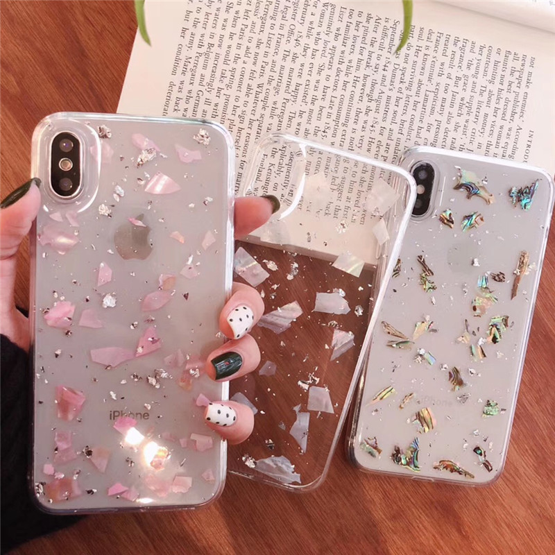 Clear Glitter <font><b>Gold</b></font> Foil Bling Powder Cover Cases For Huawei P20 P30 Mate 20 Pro <font><b>Lite</b></font> <font><b>Honor</b></font> <font><b>9</b></font> 10 Nova 2s 3 3i 4 Soft Back Capa image