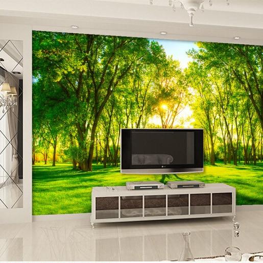 papier peint de grandes murale tv canap lit chambre fond. Black Bedroom Furniture Sets. Home Design Ideas