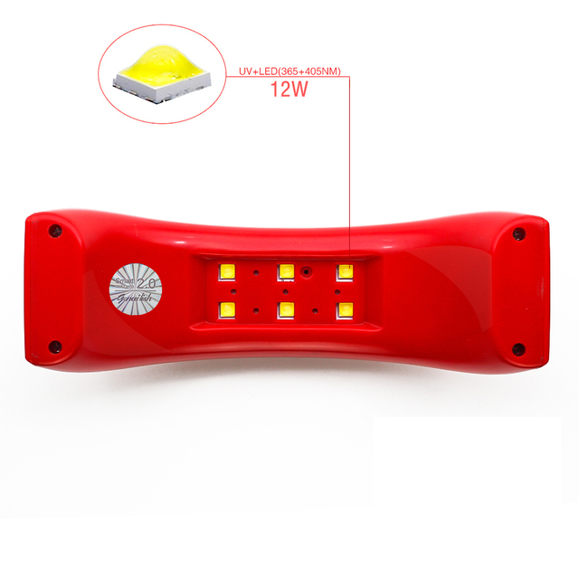 Qt Nails Mini UV  Lamp Nail Dryer