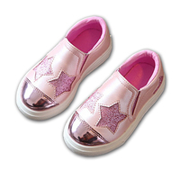 2018 Lovely Fashion Baby First Walkers Cute Slip On Girls Boys Sneakers Solid Color Baby Toddlers