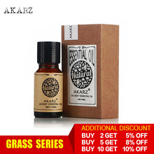 AKARZ Professional Plants Grass series top sale essential oils aromatic for aromatherapy diffusers face body skin care aroma oil