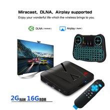 RK3328 OTHA Android 7.1 CAIXA de TV Inteligente Quad-Core bits Cortex-A53 Mini Suporte Caixa de TV HDMI 2.0 WI-FI Sem Fio Set Top Box ZX-918