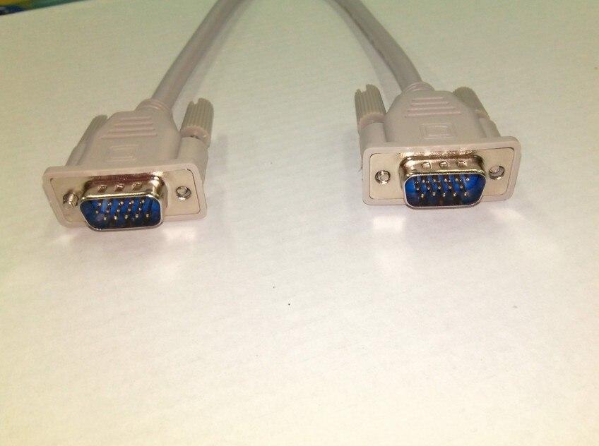 DB15 HDB15 VGA 3 ряда 15 Pin удлинитель, Мужской Женский, настраиваемая длина
