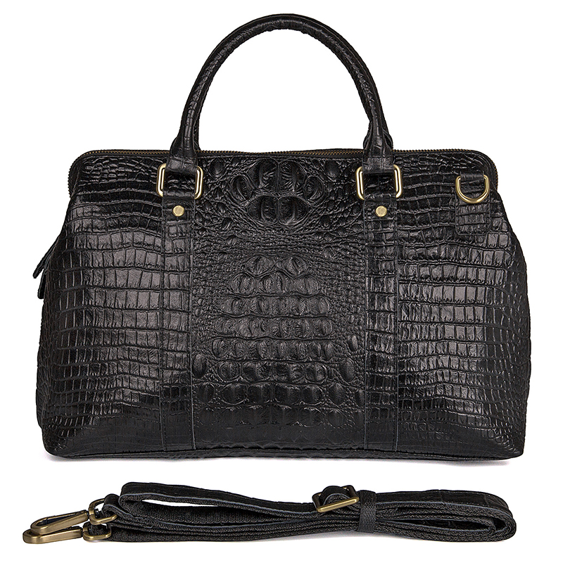 JMD Vintage Handbags Women Bag Luxury High Quality Fashion Crocodile Tote Bags Handbags Women Huge Capacity Genuine Leather Bags