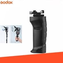 Godox FG 40 抗すべり面フラッシュハンドルホットシューフラッシュグリッププロフラッシュホルダーのための Godox スピードライトフラッシュ AD200 AD360