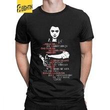 Eightin Juego de tronos Arya Stark lista hombre T camisa Camisetas manga corta de gran tamaño novedades divertidas Camisetas cuello redondo 100% algodón camiseta