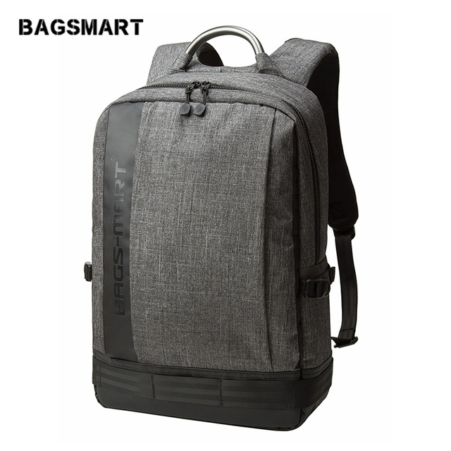 BAGSMART 2018 Men's Backpacks Bolsa Mochila for Laptop 14 Inch 15 Inch Notebook Computer Bags Men Backpack School Rucksack