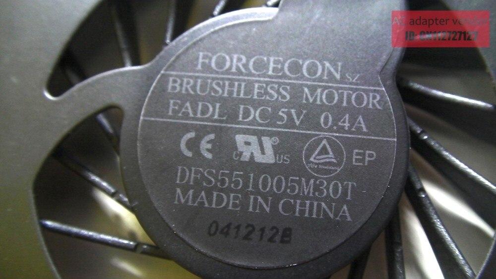 New FOXCONN NFB73B05H-001 FSFA10M DC5V 0.40A fã
