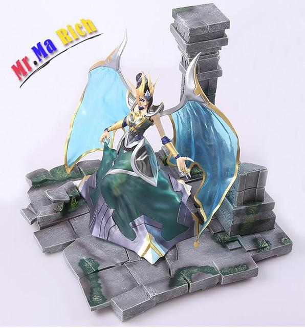 Wow 27 Cm World Of Demonized Angel Mogana Action Collectible Statue Toy Figure