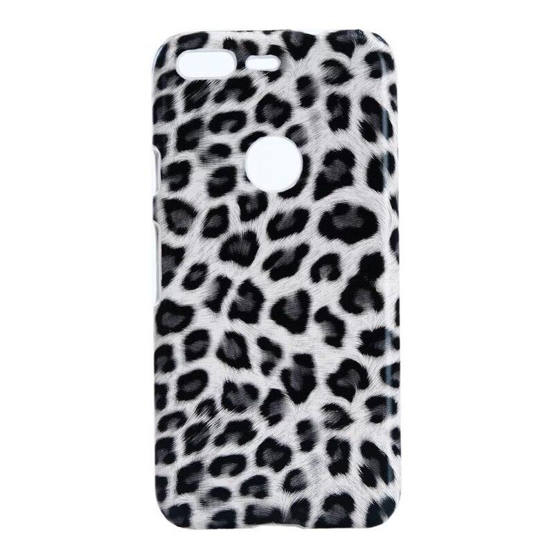 Case For Google Pixel Back Cover Funda For Google Pixel XL Case Luxury Leopard Glitter Leather TPU Hard Phone Case Kimthmall