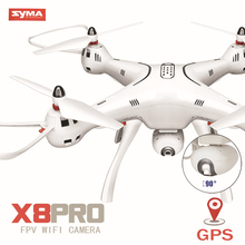 SYMA X8PRO X8 Pro GPS RC Helicopter RTF Altitude Hold RC Drone With 720P HD Camera OR Real-time 4K Wifi Camera Quadcopter VS B5W