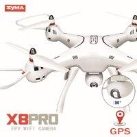 SYMA X8PRO X8 Pro gps Радиоуправляемый вертолет RTF удержания высоты RC Дрон с 720 P HD Камера или в режиме реального времени, 4 K, Wi Fi, Квадрокоптер с камерой