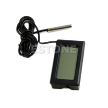 LCD Digital Tank Water Meter Detector Thermometer Electronic Fish Tank Water For Aquarium Drop Shipping Support