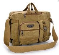 2019 Men Canvas Bag High Quality Business Handbag Messenger Bag Briefcase Designer Men Travel Bags Mens Laptop Bag Sac Homme