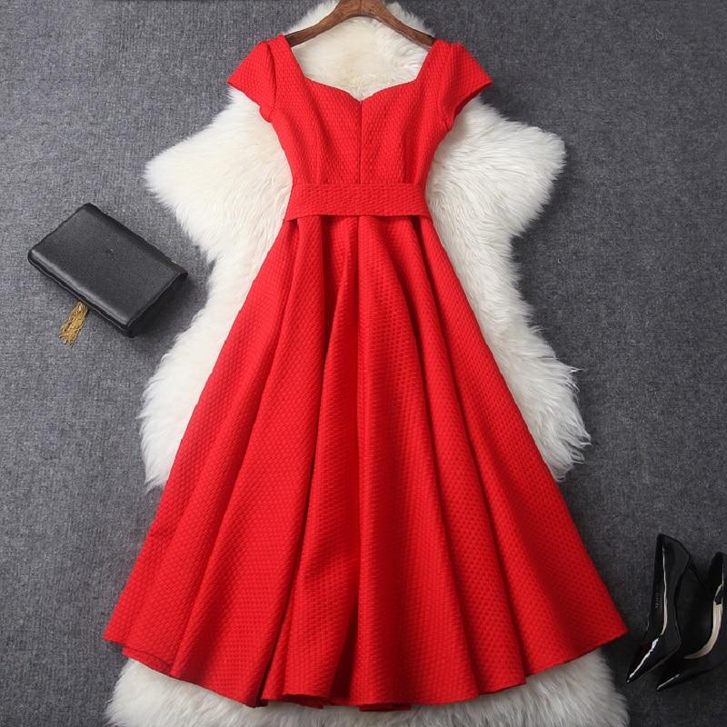 Vêtements Demoiselle 2018 Doux Élégance Gratuite De Soirée Rouge Printemps D'honneur Femmes Mince Livraison Robe Nouveau Longue Jacquard Mode wwfRzHq