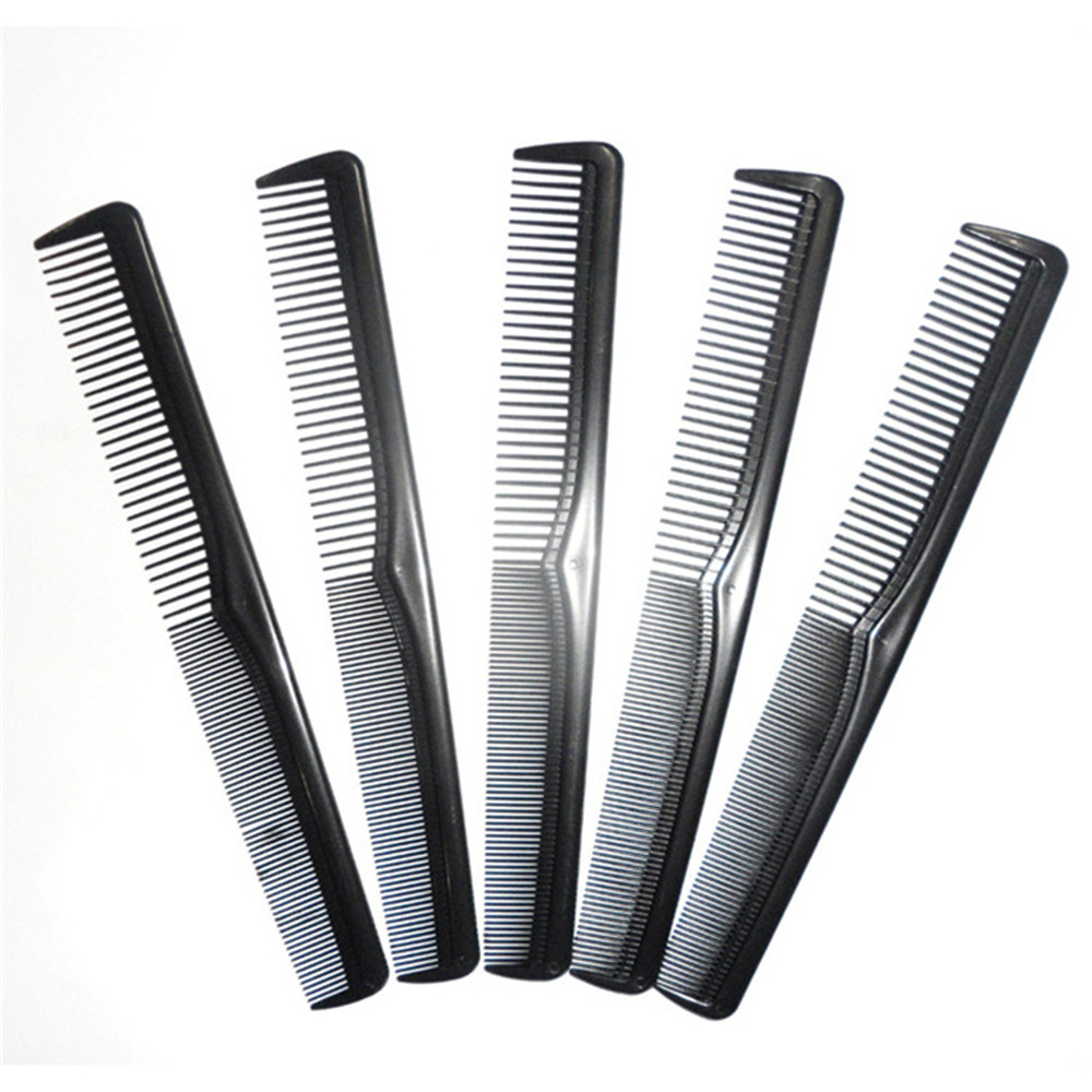 Professional Detangling Comb Anti-static Carbon Hair Brush Pro Salon Hair Styling Tools Hairdressing Barbers Handle Hairbrush