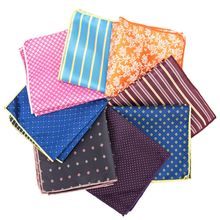 Men Cravat Jacquard Bow Tie Cravat Practical Hankies Pocket Square Wedding Necktie Dress Hankerchief Blazer Ties Shirt(China)