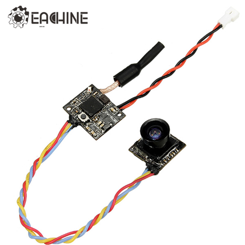 Eachine TX01S NTSC Mini 5.8G 40CH 25MW VTX 600TVL 1/3 Cmos FPV Camera nokotion brand new qcl00 la 8241p cn 06d5dg 06d5dg 6d5dg for dell inspiron 15r 5520 laptop motherboard hd7670m 1gb graphics