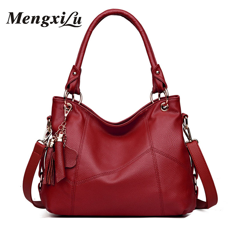 Luxury Handbags Women Bags Designer Tassel Women Shoulder Bag High Quality Women Leather Handbags Large Capacity Casual Tote Bag reprcla brand designer handbags women composite bag large capacity shoulder bags casual ladies tote high quality pu leather page 5