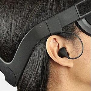Image 3 - 1 זוג אוזניות עבור צוהר קרע/קרע CV1 VR אוזניות החלפת אוזניות בידוד רעש ב ear אוזניות צוהר קרע VR