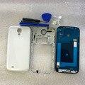 Новый Полный Дело Корпус Для Samsung Galaxy S4 i9505 I9500 полный Кадр Крышка Корпуса Ближний Шасси Двери Задняя крышка с инструменты