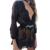 Nova Chegada Paetês Preto Vermelho Verão Bodysuit Moda Senhora Macacão combinaison femme da American Apparel Clubwear Terno WT18295