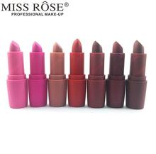 Miss Rose Nude Lipstick 8 colors Waterproof Vampire Brown Beauty font b Baby b font Lips