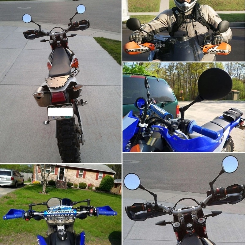 Motorcycle Mirror CNC Rear View Mirror Offroad Motorbike Aluminum For KTM 450 XCW 2007 2014 450 XCW 2007 2014 in Covers Ornamental Mouldings from Automobiles Motorcycles