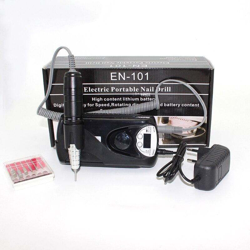 Recargable 30000 RPM eléctrica uñas taladro acrílico Nail File ...
