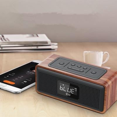 D36 rétro multifonctionnel mini haut-parleur radio FM radio/Bluetooth/TF