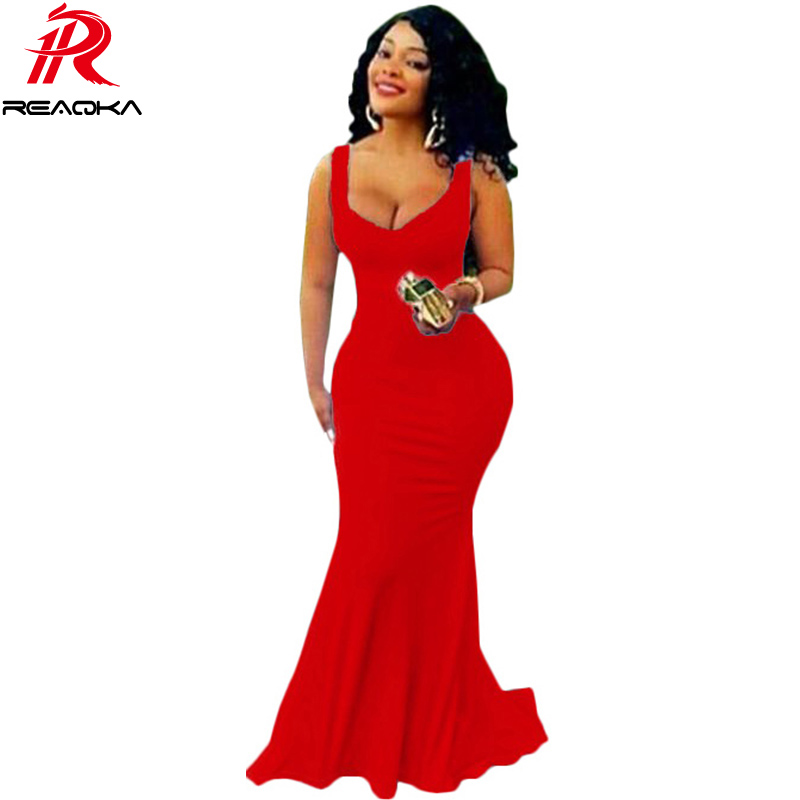 2016 New Arrival Dubai Europe Mermaid Dress Royal Blue Prom Long Dress Square Neck Floor Length Women Red Gowns Robe De Soiree