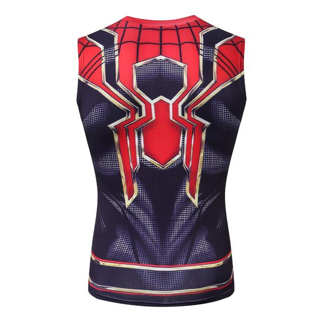 Spider Man 3D Printed T shirts Men Compression Shirt Cosplay Comics Costume Clothing 2018 NEW Arrival Summer Tops For Male
