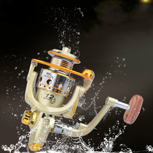 Fishing Spinning Reel 5.5:1 Metal Equipment Wheel Lure Windlass Molinete JX1000-7000 series fishing accessories