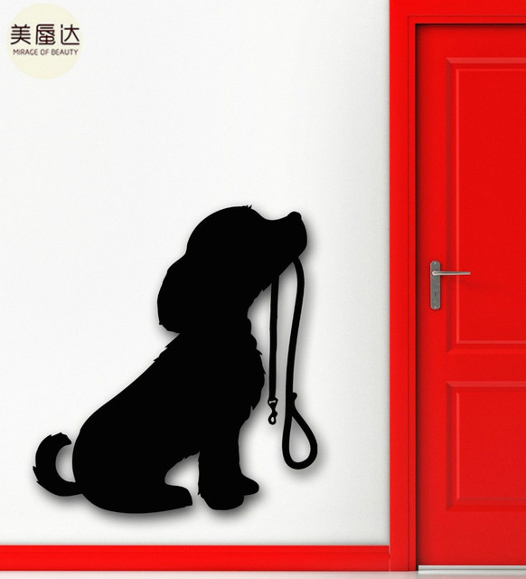 Wall Stickers Vinyl Decal Puppy Dog Animal Allegiance Cool Room Decor