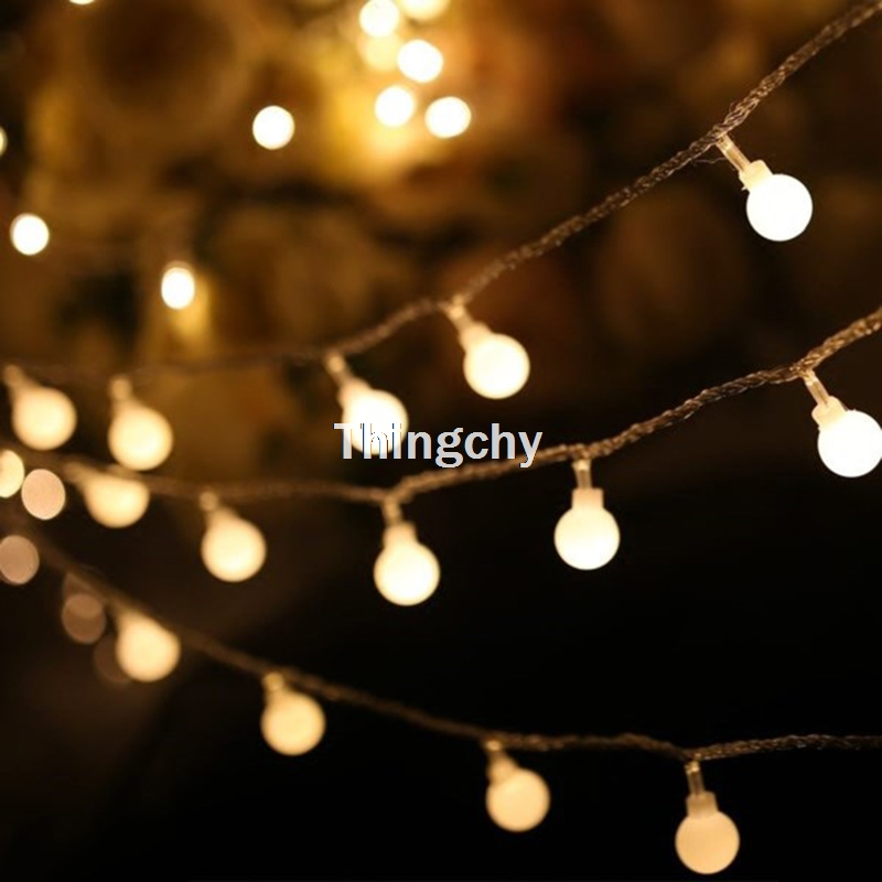 Best Buy 1 5m 3m Battery Cherry Balls Table Lamp Fairy Lights String